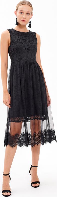Czarna sukienka Gate midi