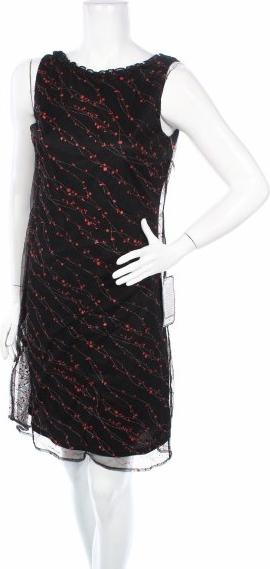 Czarna sukienka Harlow prosta