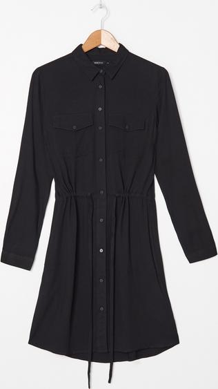 Czarna sukienka House mini