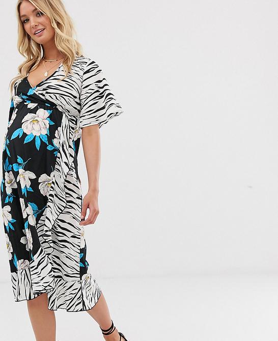 Czarna sukienka Influence Maternity
