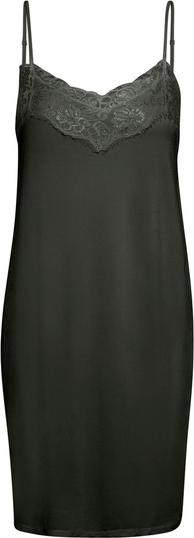 Czarna sukienka InWear mini z dekoltem w kształcie litery v