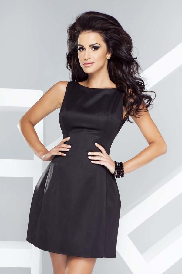 Czarna sukienka Ivon