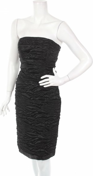 Czarna sukienka Jiki mini