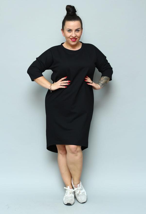 Czarna sukienka KARKO