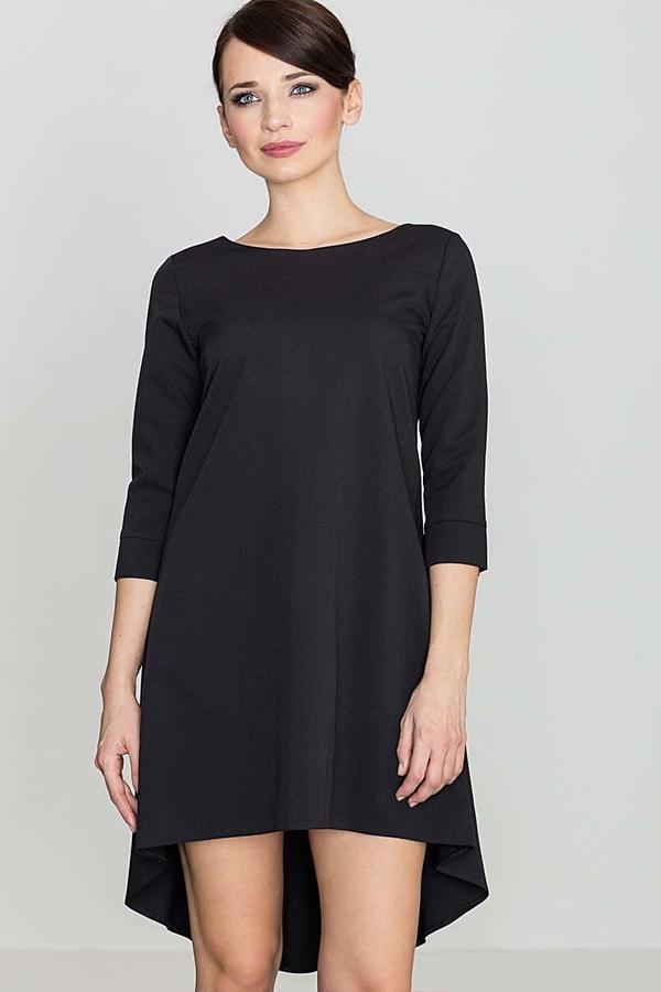 Czarna sukienka Katrus