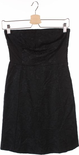Czarna sukienka Kookai mini gorsetowa bez rękawów