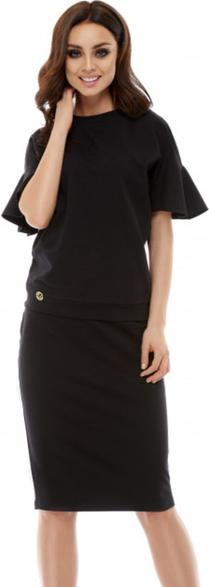 Czarna sukienka Lemoniade midi