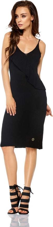 Czarna sukienka Lemoniade z dekoltem w kształcie litery v