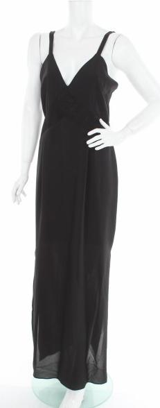 Czarna sukienka Maison Dix maxi