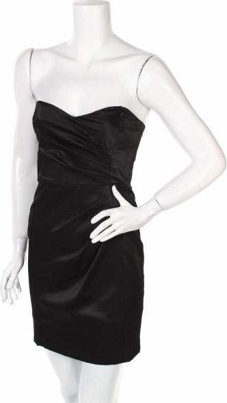 Czarna sukienka Mango mini bez rękawów