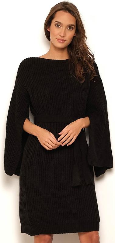 Czarna sukienka Manoukian w stylu casual