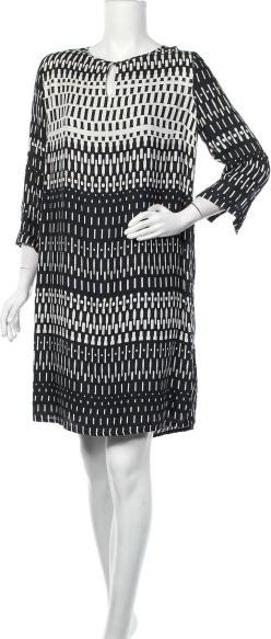 Czarna sukienka Marc O'Polo mini w stylu casual z długim rękawem