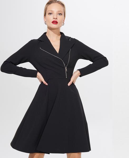 Czarna sukienka Mohito mini w stylu casual