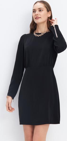 Czarna sukienka Mohito prosta