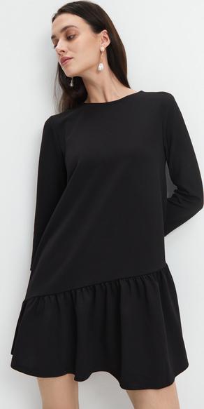 Czarna sukienka Mohito w stylu casual