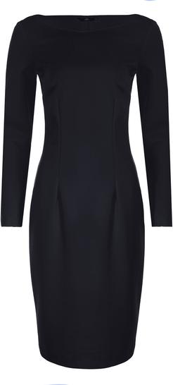 Czarna sukienka Nife z dzianiny