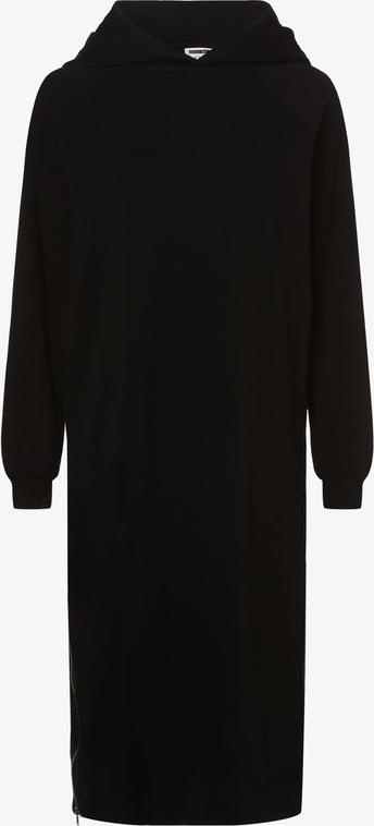 Czarna sukienka Noisy May z długim rękawem w stylu casual