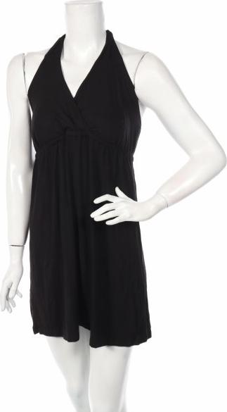 Czarna sukienka Old Navy z dekoltem w kształcie litery v