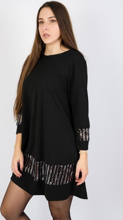 Czarna sukienka Olika