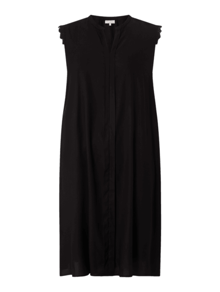 Czarna sukienka Only mini bez rękawów z dekoltem w kształcie litery v