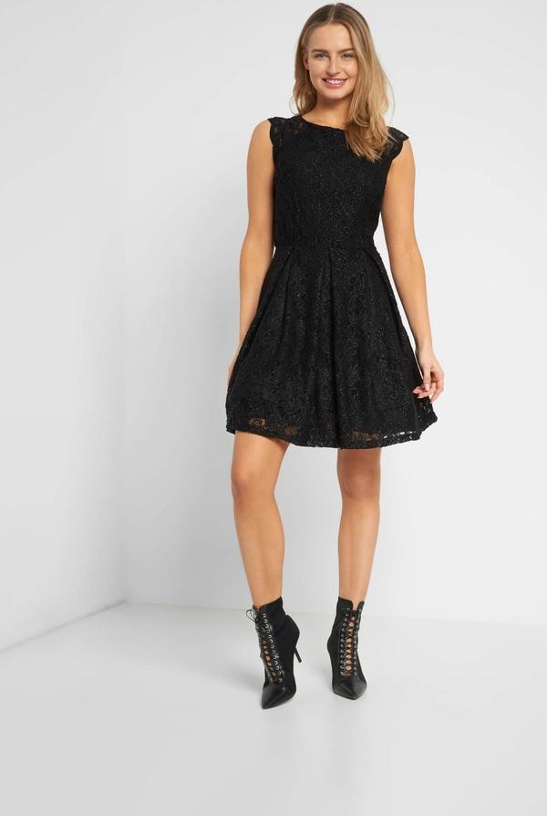 Czarna sukienka ORSAY bez rękawów