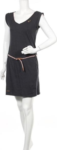 Czarna sukienka Ragwear