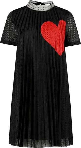 Czarna sukienka Red Valentino