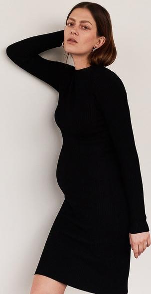 Czarna sukienka Reserved prosta