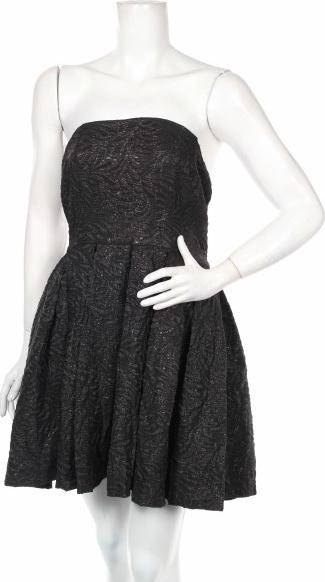 Czarna sukienka Review gorsetowa bez rękawów