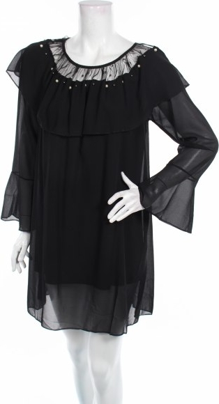 Czarna sukienka Romantik Paris