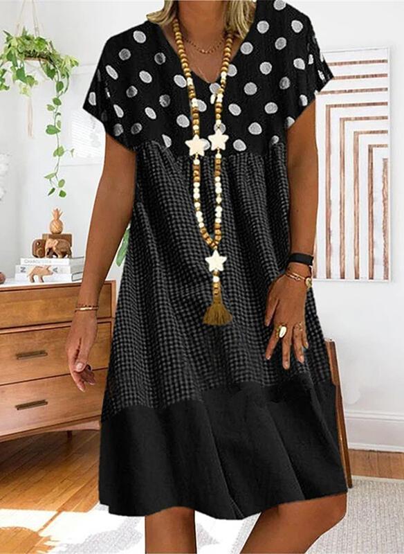 Czarna sukienka Sandbella mini