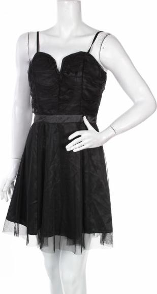 Czarna sukienka Silvian Heach mini