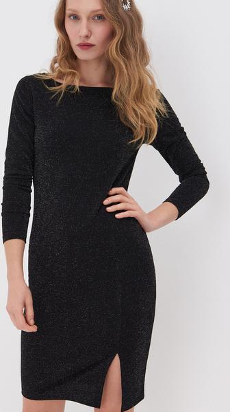 Czarna sukienka Sinsay mini