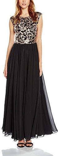 Czarna sukienka Swing