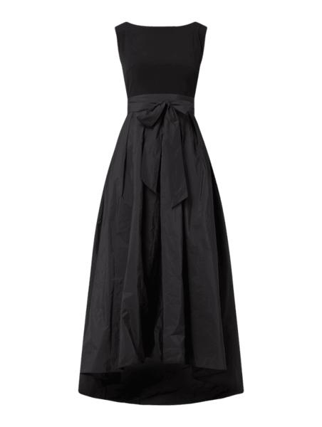 Czarna sukienka Swing bez rękawów