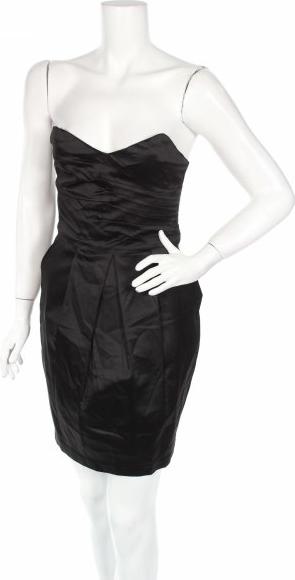 Czarna sukienka Tokito mini bez rękawów