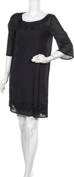 Czarna sukienka United Colors Of Benetton prosta