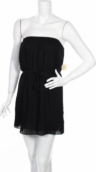 Czarna sukienka Xxi gorsetowa