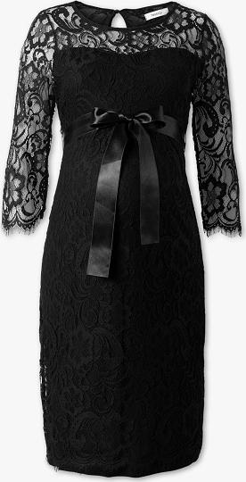 Czarna sukienka YESSICA w stylu boho