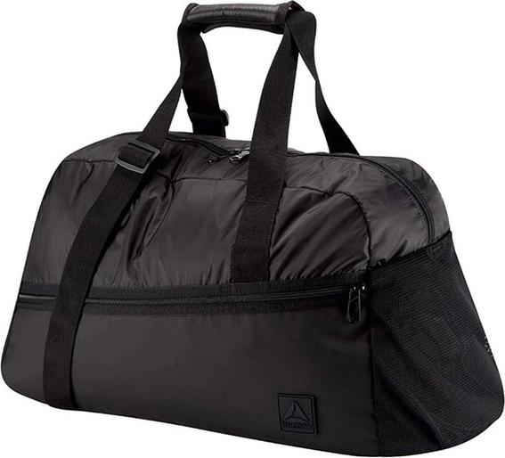 Czarna torba sportowa Reebok