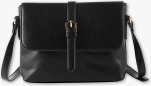 Czarna torebka C&A średnia na ramię