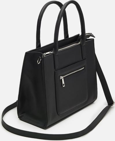 Czarna torebka Cropp duża