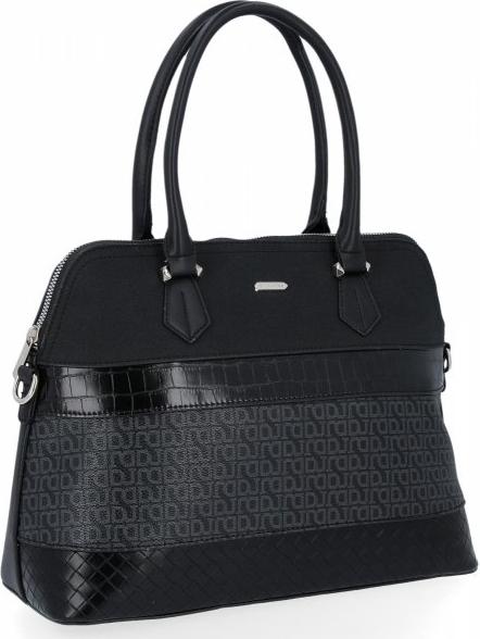 Czarna torebka David Jones duża na ramię