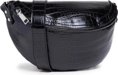 Czarna torebka DeeZee na ramię średnia