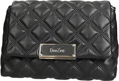 Czarna torebka DeeZee ze skóry na ramię