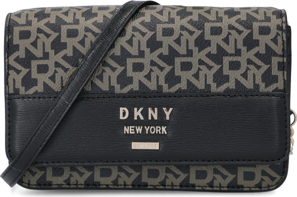 Czarna torebka DKNY na ramię mała