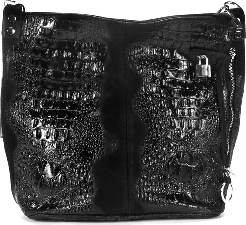 Czarna torebka Domeno na ramię