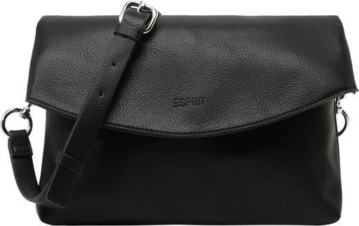 Czarna torebka Esprit średnia matowa