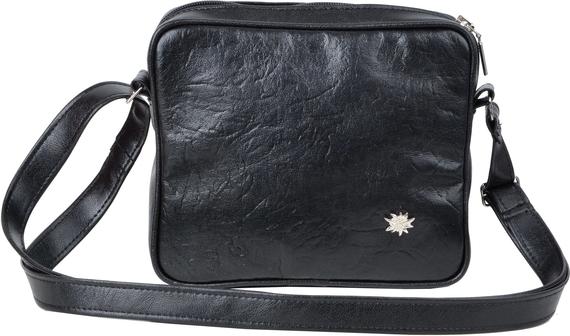 Czarna torebka Geccobag średnia