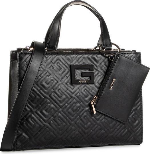 Czarna torebka Guess do ręki